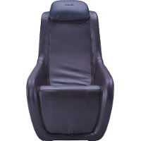 HMC-100-AB/MASSAGE Black Massage Chair - L-Track