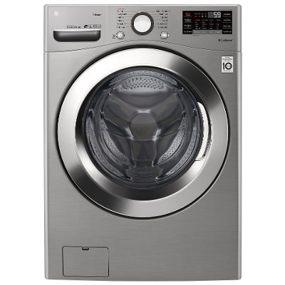 WM3700HVA LG Ultra-large Capacity Front Load Washer - 4.5 cu. ft. Graphite Steel