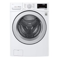 WM3500CW LG Front Load Washer with SmartThinQ - 4.5 cu. ft. White