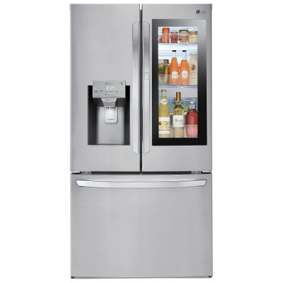 Lfxs28596s Lg French Door Refrigerator 36 Inch With Instaview Stainless Steel