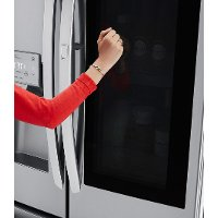 Lg French Door Refrigerator 36 Inch With Instaview Stainless Steel