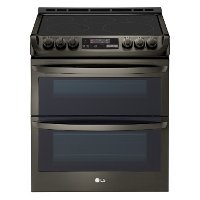 LTE4815BD LG Slide-in Electric Range - Black Stainless Steel