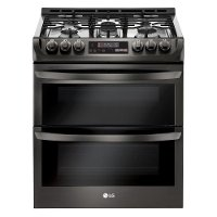 LTG4715BD LG Gas Range - 6.9 cu. ft. Black Stainless Steel