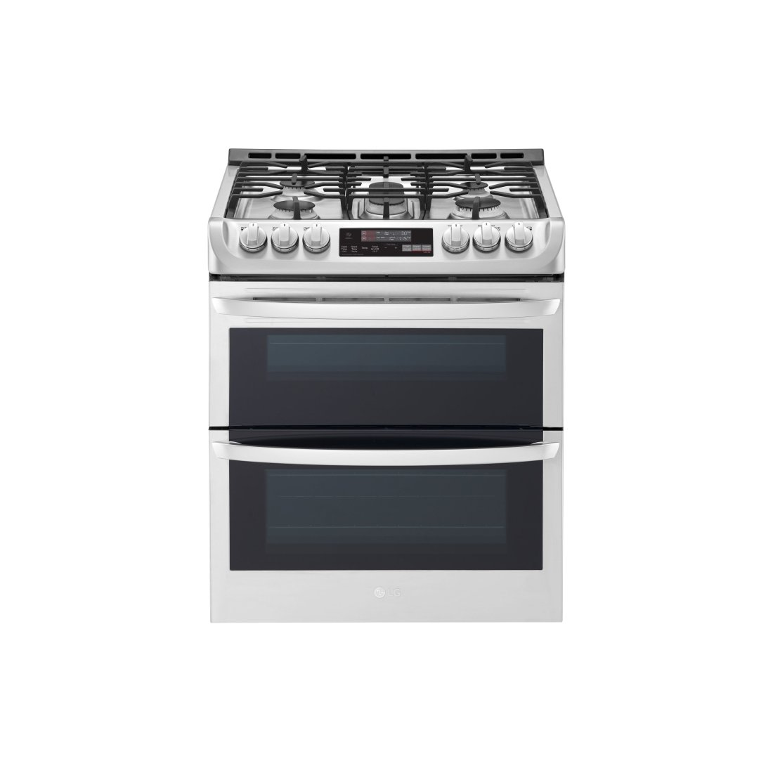Smart Wifi Enabled Gas Double Oven Slide In Range With Probake Convection And Easyclean Stainless Steel Rc Willey Furniture