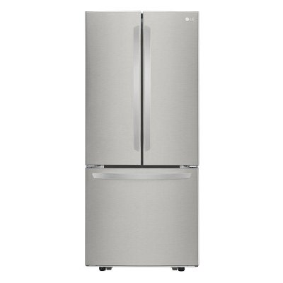 LFCS22520S LG 21.8 cu. ft. French Door Refrigerator - 30 Inch Stainless Steel