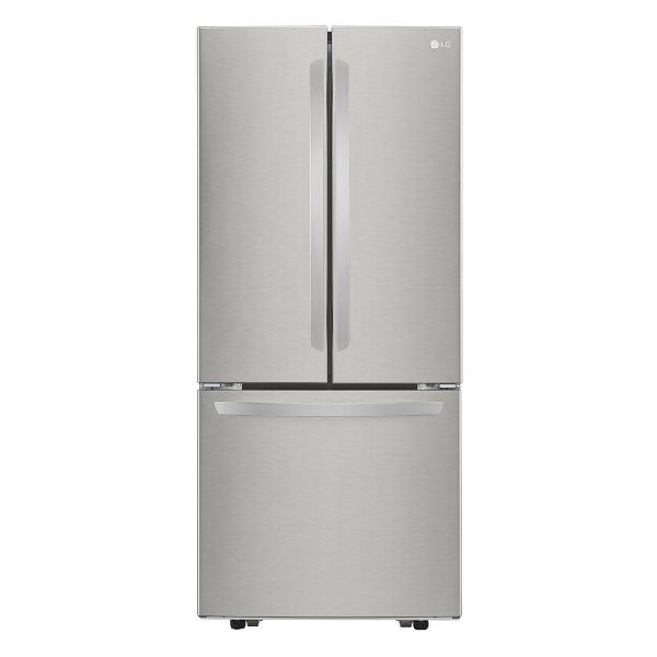 LFCS22520S LG French Door Refrigerator   30 Inch Stainless Steel