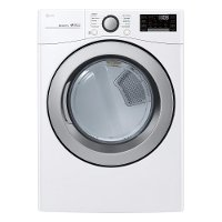 DLE3500W LG Electric Dryer with SmartDiagnosis - 7.4 cu. ft. White