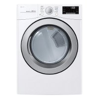 DLG3501W LG Gas Dryer with SmartDiagnosis - 7.4 cu. ft. White