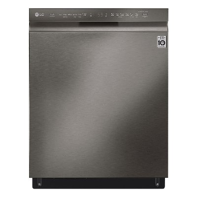 LDF5678BD LG Dishwasher with QuadWash - Black Stainless Steel