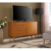 52 Inch Retro Brown TV Stand - Angelo