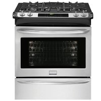 FGDS3065PF Frigidaire Gallery 30'' Slide-In Dual-Fuel Range - Stainless Steel