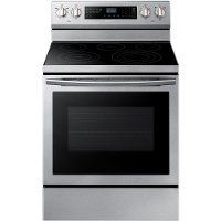 NE59N6630SS Samsung 5.9 cu. ft.  Electric Range with Steam Clean - Stainless Steel