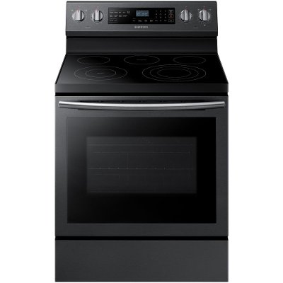 NE59N6630SG Samsung Electric Range with Steam Clean - 5.9 cu. ft. Black Stainless Steel