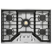 ZGU30RSLSS GE Monogram 30 Inch Recessed Gas Cooktop - Stainless Steel