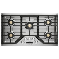 ZGU36ESLSS GE Monogram 36 Inch Gas Cooktop - Stainless Steel