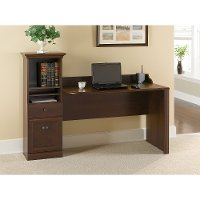 Traditional Cherry Brown Computer Desk - Barton