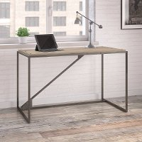 Rustic Gray Industrial 50 Inch Desk - Refinery