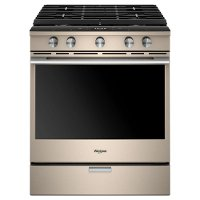 WEGA25H0HN Whirlpool Gas Range - 5.8 cu. ft. Fingerprint Resistant Sunset Bronze