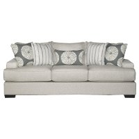 Casual Contemporary Flax Gray Sofa Bed - Raven