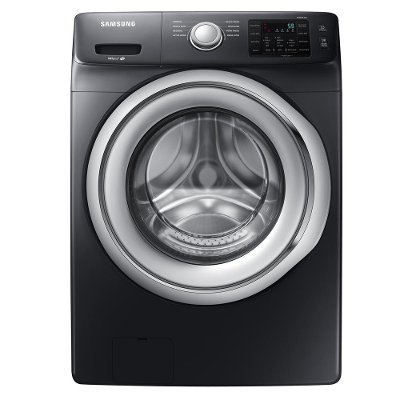 WF45N5300AV Samsung Front-Load Washer - 4.5 cu. ft. Black Stainless Steel