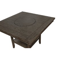 Ash Brown Counter Height Dining Table - Fulton