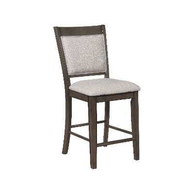 Ash Brown and Gray Counter Height Stool - Fulton