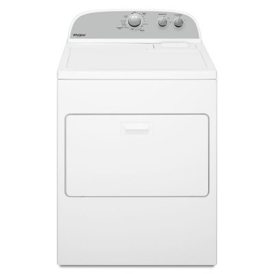 WED4950HW Whirlpool Electric Dryer with Wrinkle Shield - 7.0 cu. ft.  White