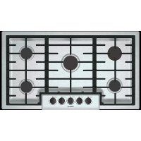 NGM5656UC Bosch 500 Series 36 Inch 5 Burner Gas Cooktop - Stainless Steel