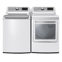 KIT LG Washer and Dryer Pair - White Gas