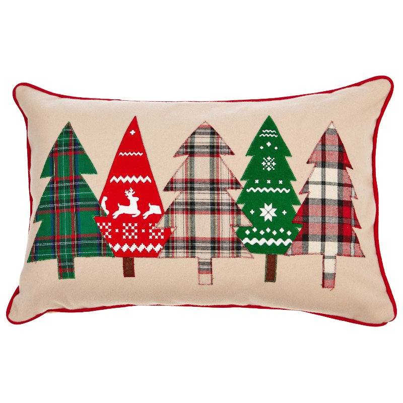 21 inch multi color holiday tree throw pillow rcwilley image1~800