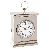 8 Inch Steel Table Clock