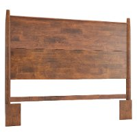 Brown Planked Queen Headboard - Nevada