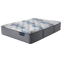 SET Serta iComfort 200 Plush Split California King Mattress - Blue Fusion