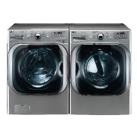 KIT LG Front Load Washer and Dryer Pair - Graphite Steel Gas