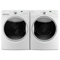 KIT Whirlpool Front Load Washer and Dryer Set - White Electric