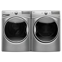 KIT Whirlpool Front Load Washer and Electric Dryer - Stainless Steel