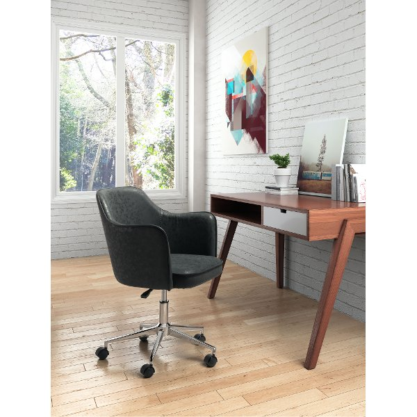 Stylish office furniture Table Vintage Black Leather Office Chair Keen My Black Lab Wordpresscom Rc Willey Has Comfortable Stylish Office Chairs For Home Searching