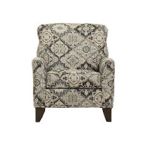 Classic Beige and Brown Accent Chair - Belfast