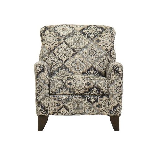 Merveilleux ... Classic Beige And Brown Accent Chair   Belfast