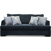 Contemporary Baltic Blue Sofa - Lansing