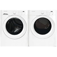 KIT Frigidaire Front Load Washer and Electric Dryer Pair- White