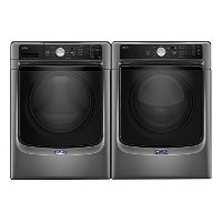 KIT Maytag Front Load Washer and Dryer Set - Metallic Slate Electric