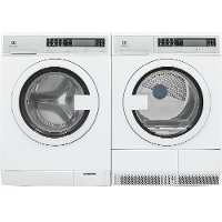 KIT Electrolux Front Load Washer and Dryer Set - White Electric