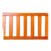 Pecan Toddler Bed Guardrail - Dream On Me