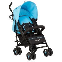 Blue Lightweight Fold Up Stroller - Jasper