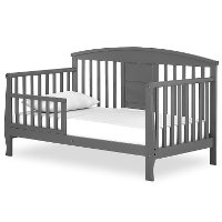 Steel Gray Toddler Bed - Dallas