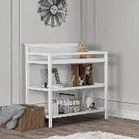 Casual Classic White Universal Changing Table - Jax