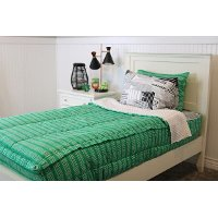 Beddy's Twin Kelly Green Central Park Bedding Collection