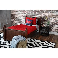 Beddy's Twin Red On Fire Bedding Collection