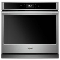 WOSA2EC0HZ Whirlpool 30 Inch Smart Single Wall Oven with Convection - 5.0 cu. ft. Stainless Steel
